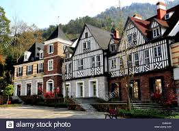 French Style House by Bai Lu China French Style Half Timber Manor Houses Style In The