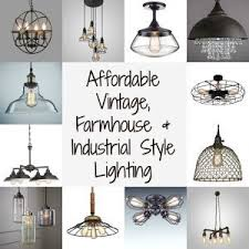 industrial style lighting vintage farmhouse and industrial style lighting by just the woods
