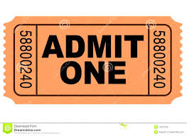 editable ticket template free admit one template admission