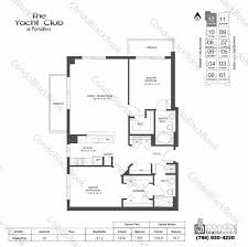 beach club hallandale floor plans yacht club at portofino unit 2012 condo for rent in south beach