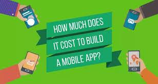 how much does it cost how much does it cost to build a mobile app hacker noon
