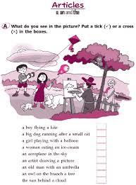 good grammar grade 2 grammar lesson 3 articles u2013 a an and the