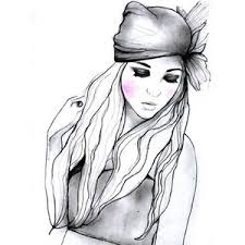 beautiful sketches of beautiful girls by sarah hankinson polyvore