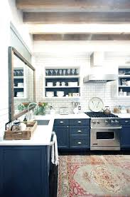 Blue And White Kitchen Ideas Navy Kitchen Cabinets Navy Blue White With Window Cleaners Kitchen