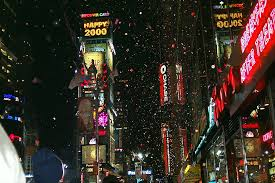times square on new years 1999 2000 new york usa flickr
