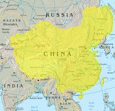 china on a map map of the qing dynasty china including some parts that are now