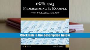 download ebook microsoft excel 2013 programming by example with