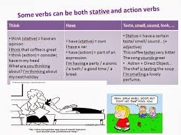 the fascinating stative verbs
