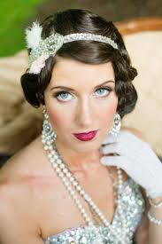 20 elegant art deco bridal hair u0026 makeup ideas chic vintage brides