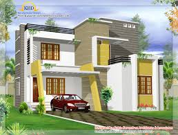 modern contemporary villa design 1500 sq ft kerala home