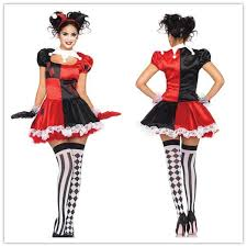 Srxy Halloween Costumes Halloween Costumes Women Cosplay Female Harlequin