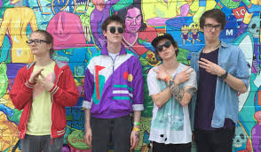 Fright Lined Dining Room Get To Know Hippo Campus The Girls At The Rock Show