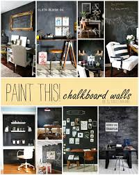 paint this chalkboard walls in office spaces it all started