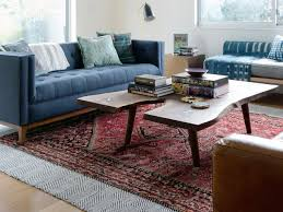 Rug In Living Room How To Choose The Right Rug Material Wayfair