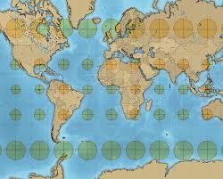 Map Distortion Creating A Tissot U0027s Indicatrix In Qgis Ieqgis