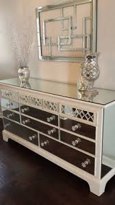 Bedroom Mirror Furniture by This Is A Plain Ikea Dresser Refinished With Mirror And O U0027verlays