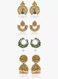 ear cuffs india earrings online buy fashion earrings ear cuffs jhumkis online