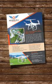 entry 5 by graysaints for aerial photography flyer design