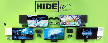 hideit mounts wall mounts playstation xbox wii cable box