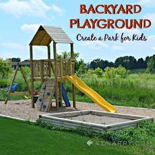 diy backyard playground how to create a park for kids