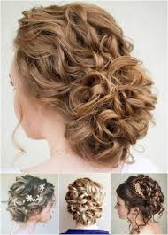 updos for curly hair i can do myself 60 easy updo hairstyles for medium length hair in 2018