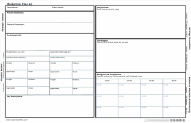 sample sales and marketing plan template sales plan template