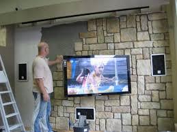 steinwand wohnzimmer tv steinwand wohnzimmer tv joelbuxton info