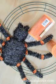 How To Make Halloween Wreath Halloween Spider Wreath Plus Loads Of Other Ideas For Awesome