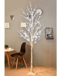 lighted christmas decorations indoor memorial day shopping special led birch tree 6ft 96l led christmas