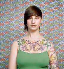 11 may 2015 chest tattoos for women