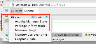 memory manager for android where is activity manager state in android studio 3 stack