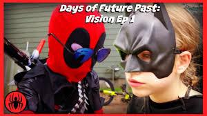 kid deadpool batman days of future past vision episode 1 superhero