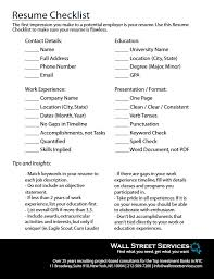 not to include in resume resume checklist for finance professionals with 25 years of