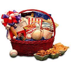 baseball gift basket sport delivery best flowers worldwide