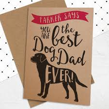 best s day cards best dog card by well bred design notonthehighstreet
