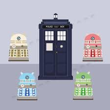 dr who wrapping paper doctor who tardis dalek wrapping paper png by alittleshopofcolour