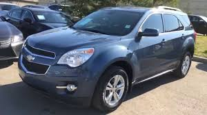 chevrolet equinox blue pre owned blue 2011 chevrolet equinox awd 1lt walk around review