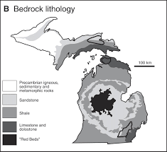 Map Of Upper Michigan by The Carbonate System Geochemistry Of Shallow Groundwater U2013surface