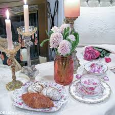 romantic table settings table for two a romantic table setting for valentine s day