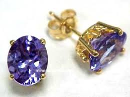 tanzanite earrings tanzanite earrings genuine tanzanite earrings