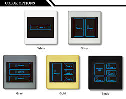 light switch color options ivor switch touch smart light switch best remote light switch view