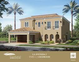 Dubai House Floor Plans La Avenida In Arabian Ranches Emaar Properties