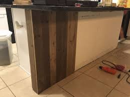 barnwood kitchen island kitchen island makeover diy barn wood hometalk