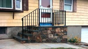 interior railings home depot outdoor wrought iron stair railing outdoor stair railing home depot