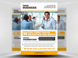 business flyer templates psd free business flyer template psd