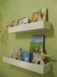 Wall Bookshelves For Nursery by How To Make Wall Shelves For Books In The Nursery Shelves
