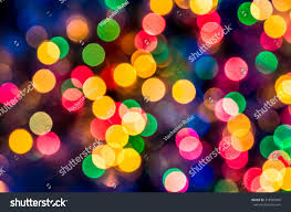 Colored Christmas Lights by Colorful Beautiful Multicolored Christmas Lights On Stock Photo