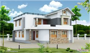 new home design two storied house cents plot home building plans