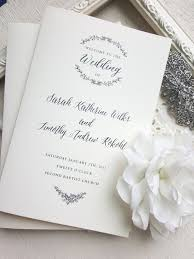 Folded Wedding Programs 100 Best Wedding Programs Images On Pinterest Wedding