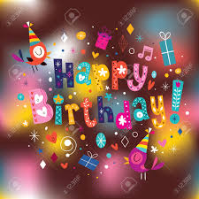 happy birthday card royalty free cliparts vectors and stock